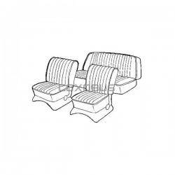 HOUSSES DE SIEGES GRIS CLAIR NOTCH/FAST 65-67