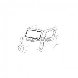 JOINT LUNETTE ARRIERE LUXE SQUAREBACK TYPE 3 62-74