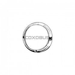 CERCLE PHARE AVANT KARMANN GHIA CHROME USA 65-74