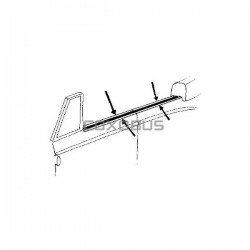 KIT MOULURES / VITRES LATERALES CABRIOLET 53-63