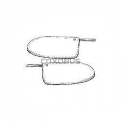 PARES-SOLEIL 58-64 paire BLANC BQ TMI