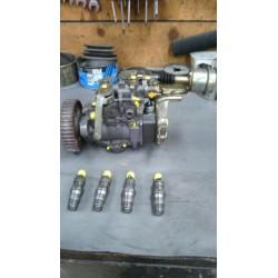 Pompe injection 1.6 TD moteur JX avec injecteurs