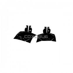 TOLES DESSOUS CYLINDRES POUR M8